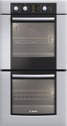 """27"""" Double Wall Oven 500 Series - Stainless Steel HBN5650UC"""