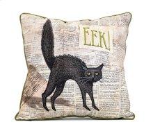 Apothescary Halloween Cat Pillow