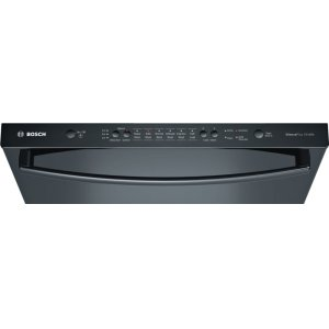 Ascenta® built-under dishwasher 24'' Black SHX3AR76UC