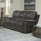Belize Ash Power Sofa Product Image