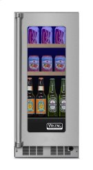 "15"" Beverage Center, Right Hinge/Left Handle Product Image"