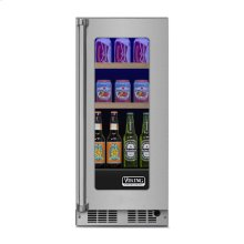 "15"" Beverage Center, Right Hinge/Left Handle"