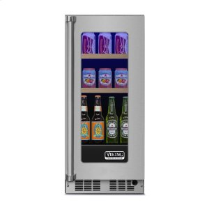 "Viking15"" Beverage Center, Right Hinge/Left Handle"