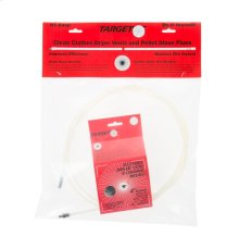 Dryer vent tube brush