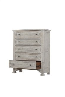 5 Drawer Chest-linen Wisp Finish