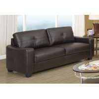Jasmine Casual Dark Brown Sofa Product Image