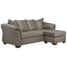 Signature Design by Ashley Darcy Sofa Chaise in Cobblestone Microfiber [FSD-1109SOFCH-COB-GG]