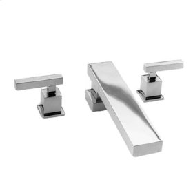 Stainless-Steel-PVD Roman Tub Faucet