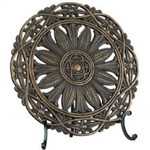 """Charger - Dark Bronze, 16""""hx16""""w"""