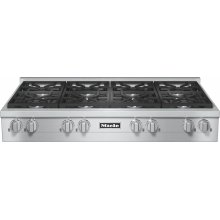 KMR 1354 G RangeTop with 8 burners for professional applications