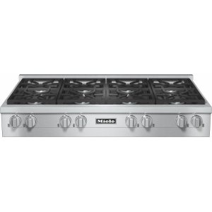 MieleKMR 1354 G RangeTop with 8 burners for professional applications