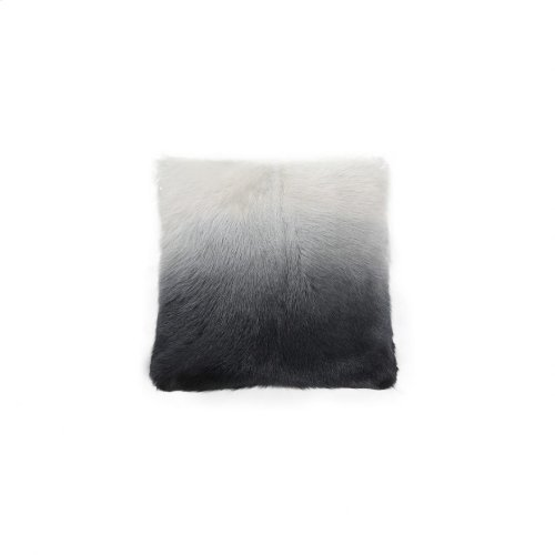 Goat Fur Pillow Light Grey Spectrum