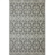 Fasney Ash Grey Rectangle 3ft 6in X 5ft 6in