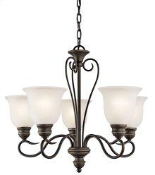 Tanglewood 5 Light Chandelier Olde Bronze®