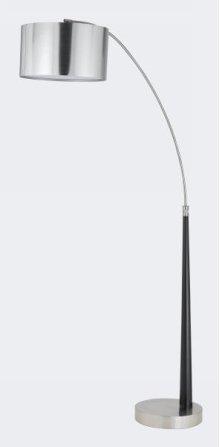 150W 3 way metal arc floor lamp w/vacuum plated PVC shade