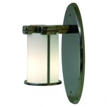Truss-Ring Sconce - Round Globe - WS415 Silicon Bronze Brushed