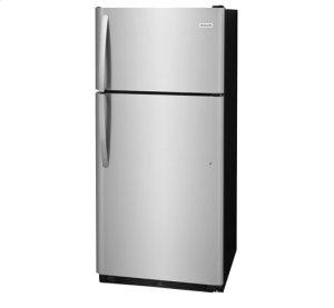 Frigidaire 18 Cu. Ft. Stainless Steel Top Freezer Refrigerator, Scratch & Dent