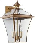 Virginia Triple Light Sconce - Brass Product Image