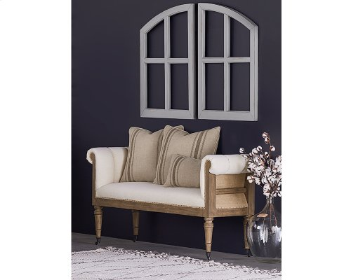 Ivory Reveal Bench