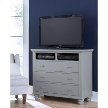 Entertainment Chest (Available in Cherry Brown or Eggshell White Finish)