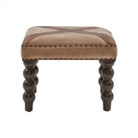 Tilson Bench In Tan Suede Cloth Product Image