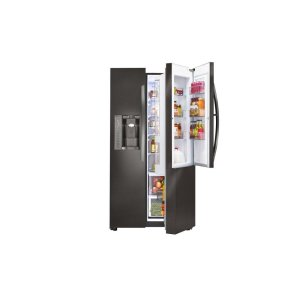 26 cu. ft. Door-in-Door® Refrigerator - BLACK STAINLESS STEEL