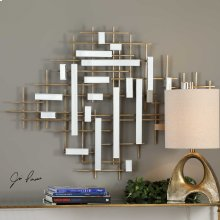 Apollo Mirrored Wall Decor