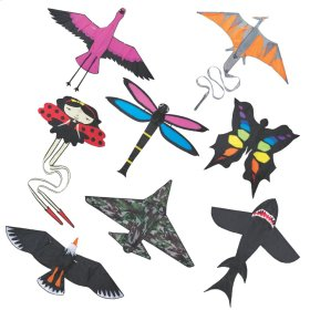 16 pc. Assortment. Up, Up, & Away Kites