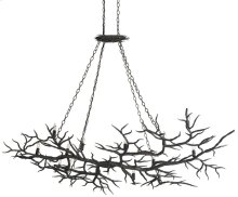 Rainforest Chandelier - 46.25h x 74w x 46.75d, adjustable from 52h to 72.25h