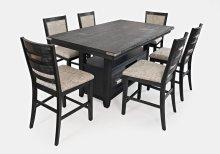 Altamonte Upholstered Counter Stool - Dark Charcoal