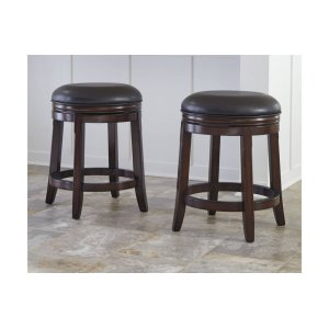 AshleyASHLEY MILLENNIUMUph Swivel Stool (2/cn)