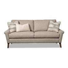 Flared Notch Arm Sofa