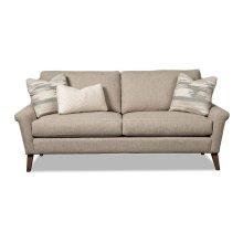 Flared Notch Arm Sofa