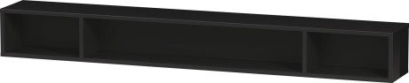Shelf Element (horizontal), Black High Gloss Lacquer