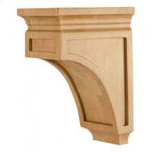 "5"" x 7"" x 10"" Mission Style Corbel, Species: Hard Maple"