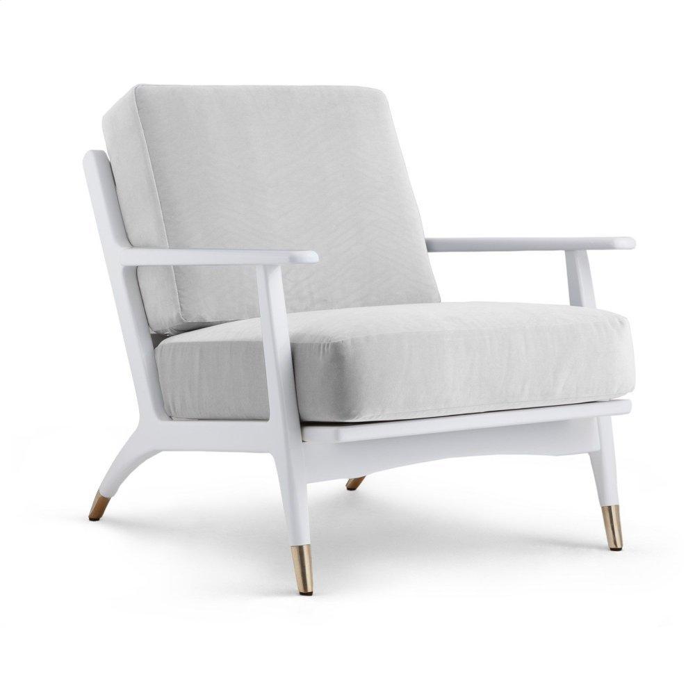 Hart Lounge Chair, White