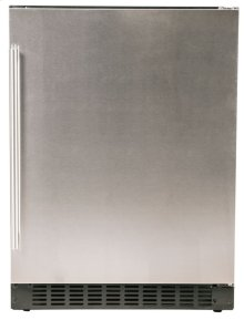 "Refrigerator - 24"" Solid Stainless Door"