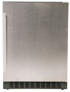 """Refrigerator - 24"""" Solid Stainless Door"""