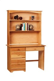 Home Office Desk Hutch With Two Fixed Shelves Product Image