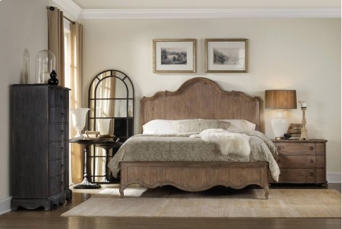 Corsica King Panel Bed
