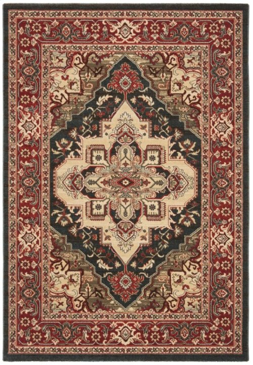 Mahal Power Loomed Square Rug