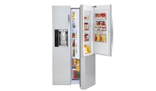 26. cu. ft. Ultra Capacity Side-By-Side Refrigerator with Door-in-Door®