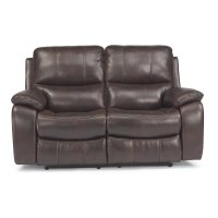 Woodstock Fabric Power Reclining Loveseat Product Image