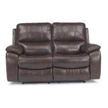 Woodstock Fabric Power Reclining Loveseat