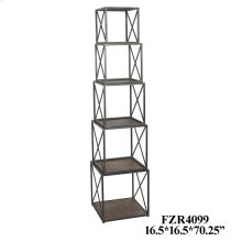 Franklin Metal and Wood Stackable Etagere