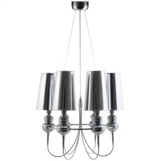 Tapestry Stainless Steel Chandelier in Silver Product Image