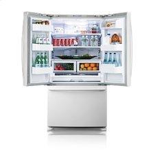 25.8 cu.ft. french door refrigerator - white