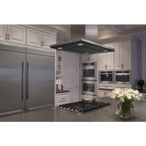 "Double Wall Oven with V2™ Vertical Dual-Fan Convection System, 30"", Floating Glass Black"