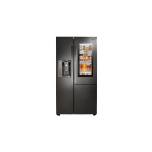 22 cu.ft. Smart wi-fi Enabled InstaView Door-in-Door® Counter-Depth Refrigerator - BLACK STAINLESS STEEL