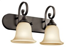 Monroe 2 Light Vanity Light Olde Bronze®
